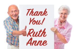 Thank You Ruth Anne!